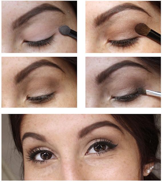 Tuto Step by step eyes Natural Gerlain
