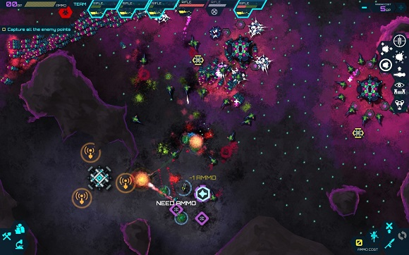 elite soldiers against an alien horde of Infested Planet Planetary Campaign-GOG