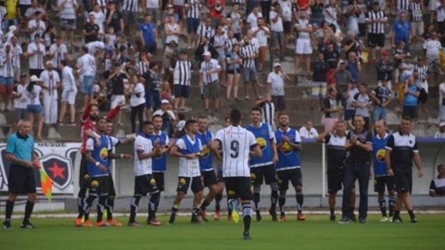 Nacional de Patos é goleado pelo Botafogo da Paraíba por 4 a 1 e fica na lanterna no grupo B