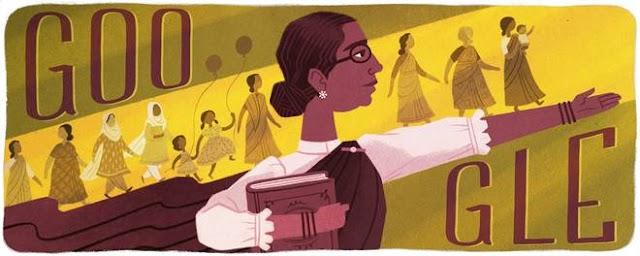 Google Doodle celebrates Dr. Mutulakshmi Reddy, the first female legislator in India