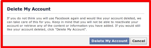 how to delete facebook account not just deactivate