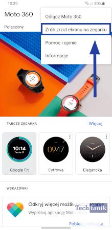 Jak zrobić screenshota w smartwatchu?