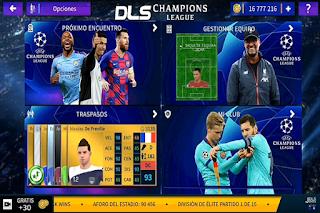 DLS UEFA Champions League 2020/2021