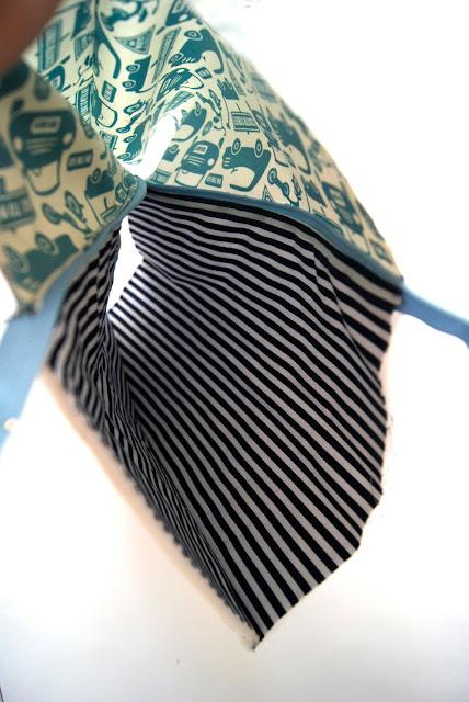 kleines Täschchen mit Reißverschluss Nähanleitung