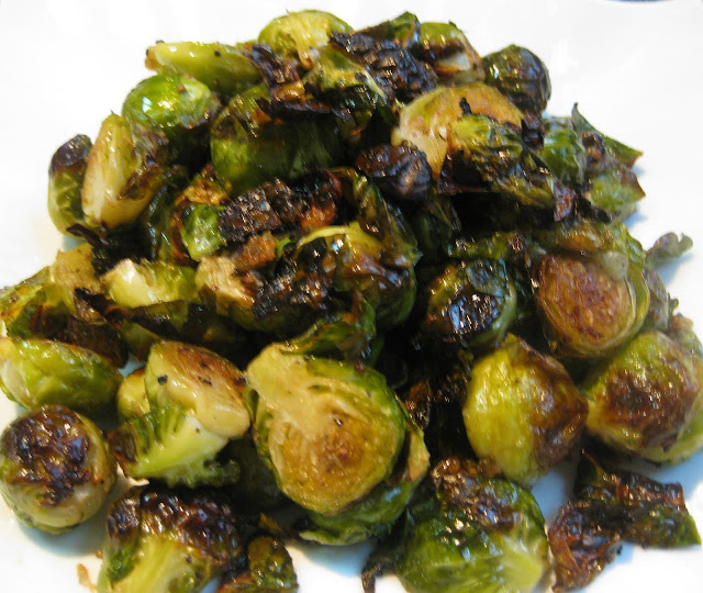Food Lust People Love: Roasted Garlicky Brussels Sprouts are the best Brussel sprouts - crunchy and tender - the roasting brings out their natural sweetness, complemented by the garlic. Delicious!