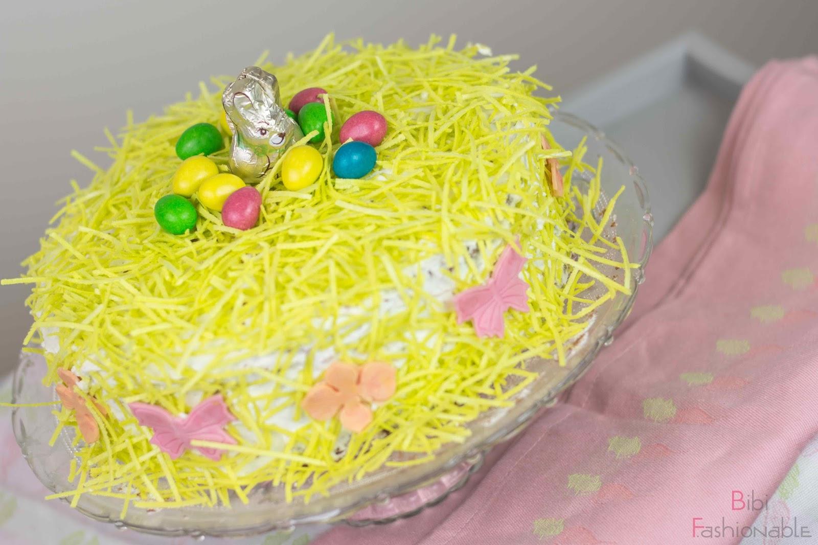Osternest Torte oben