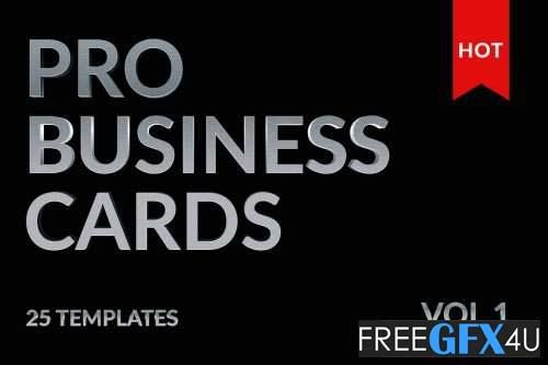 25 Mega Business Cards Bundle