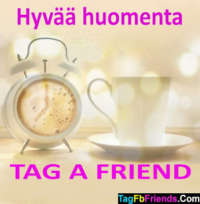 Good morning in Finnish language
