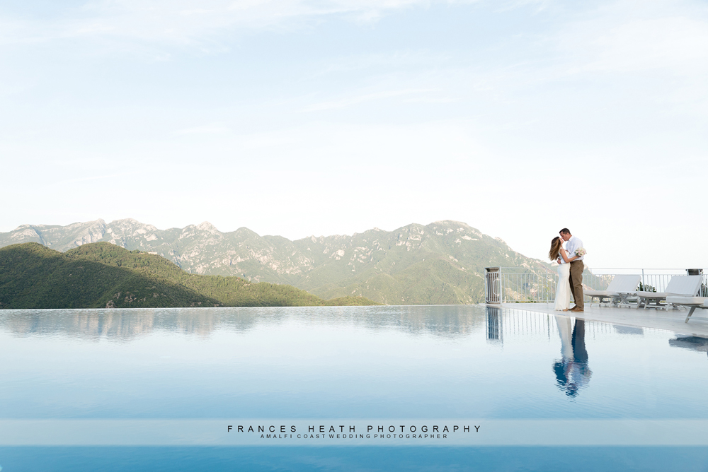 Elopement wedding at Hotel Caruso