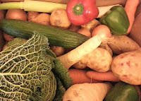 Assorted Vegetables from Asda Wonky Veg Box