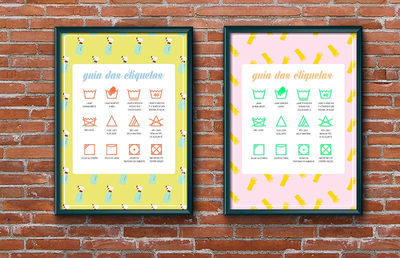 Para imprimir: um guia com os símbolos das etiquetas e todos os seus significados!