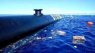 progetto di Boyan Slat per la pulizia del mare dalla plastica