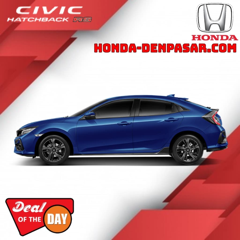 Honda Civic Hatchback RS Bali, Harga Civic Hatchback RS Bali, Promo Civic Hatchback RS Bali, Kredit Civic Hatchback RS Bali, Promo Harga Honda Civic Hatchback RS Denpasar Bali, Dealer Mobil Honda Bali, Honda Denpasar