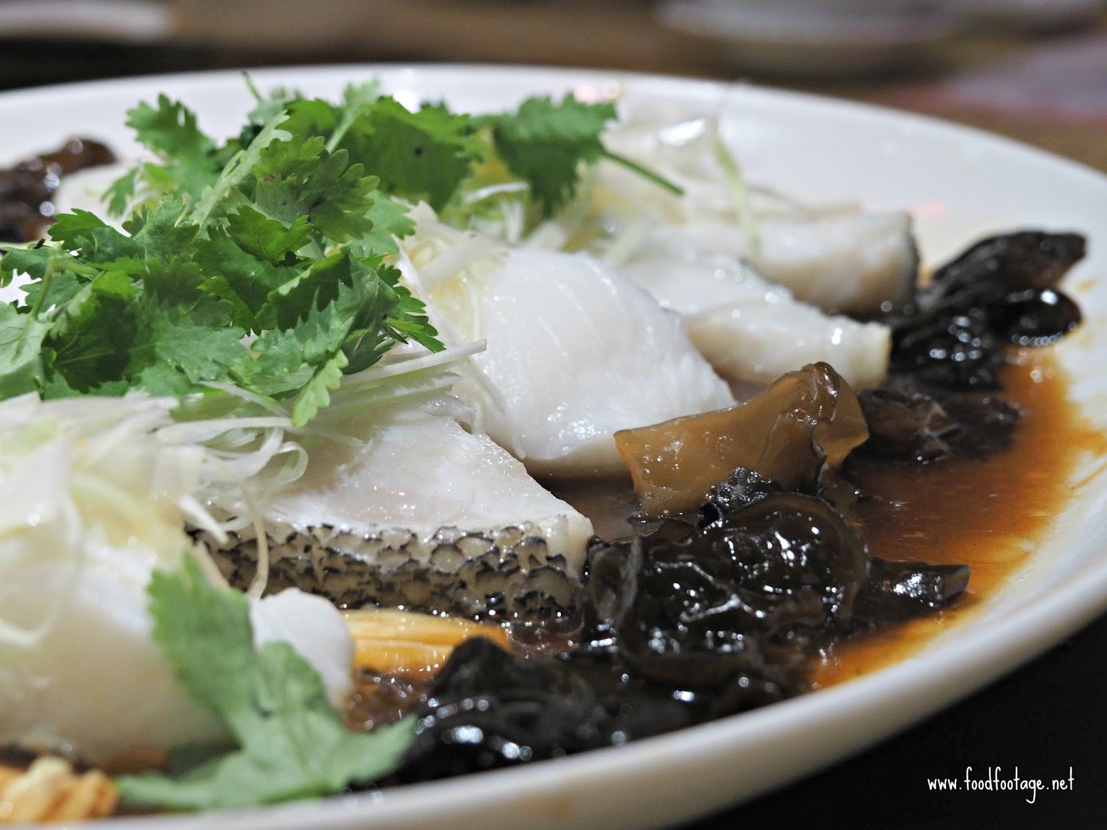 Ee chinese cuisine chinese new year fortune set menu eastin steamed cod fish with superior soya sauce and black fungus silky steamed cod fish that practically melt in your mouth with superior soya sauce and black buycottarizona Images