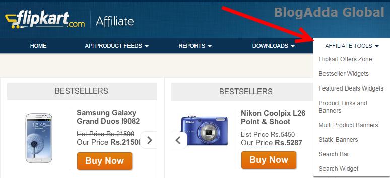 Affiliate-Product-widgets