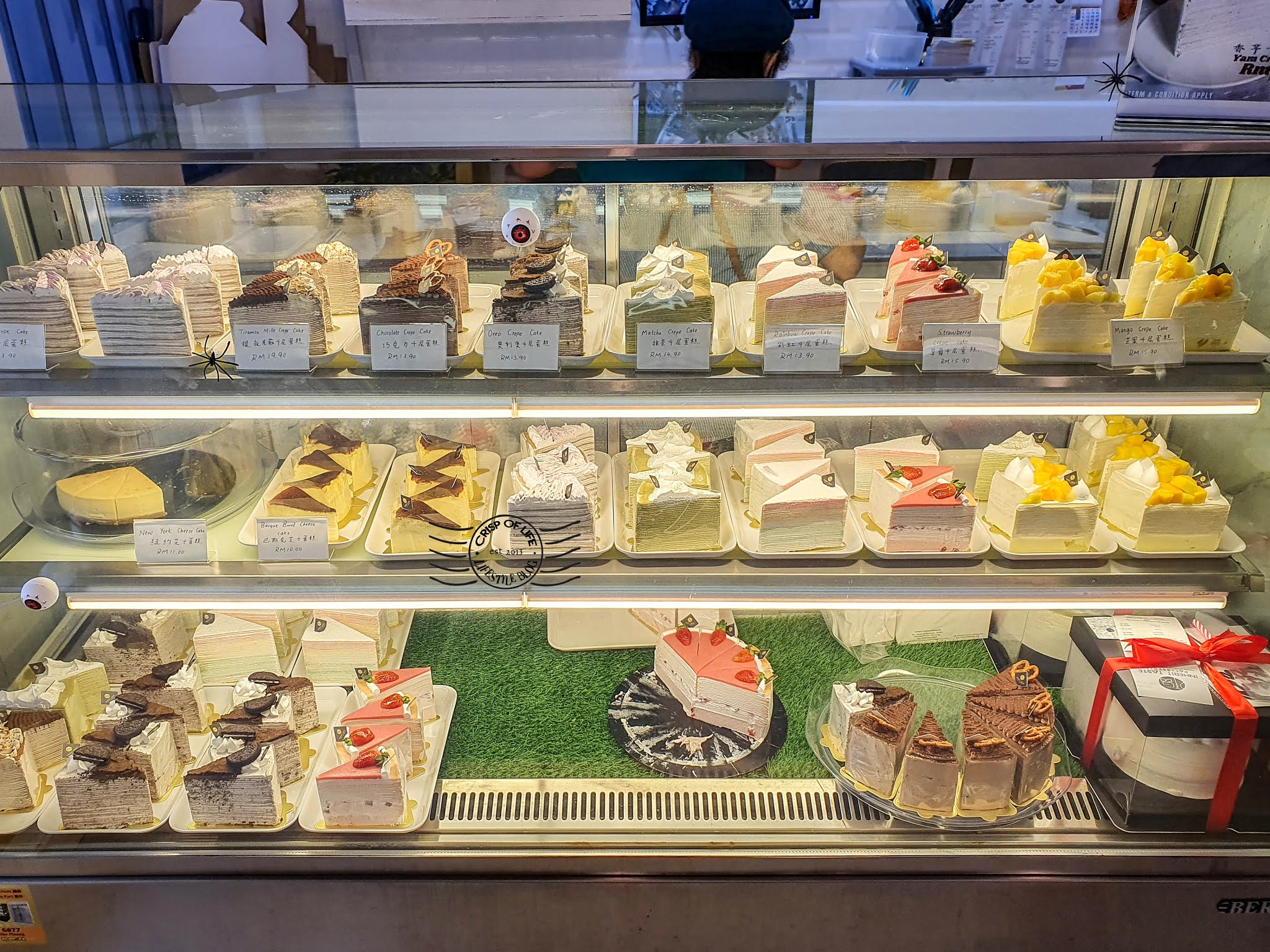 Crepe Cakes @ Inherit Taste Patisserie 承品烘培