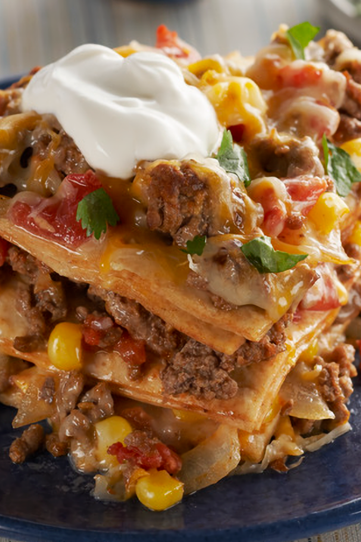 Easy Baked Taco Pie Recipe