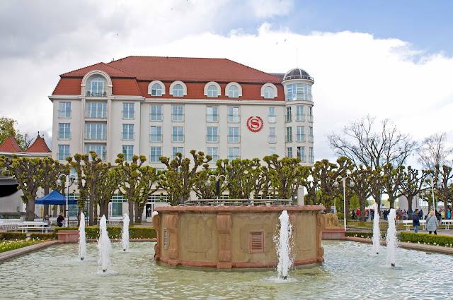 Sheraton Sopot Hotel wygląd z zewnątrz