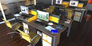 3 Tips Sederhana Menata Ruang Kerja Paling Nyaman