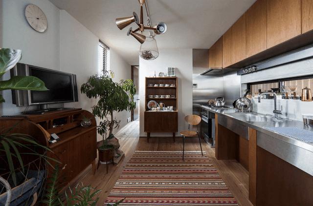 Inspirasi Ide Desain Dapur Minimalis Asia dengan luasan yang besar dan kompleks