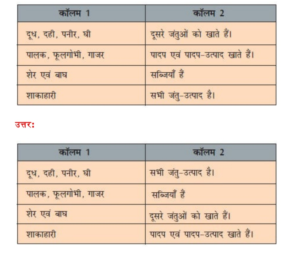भोजन : यह कहाँ से आता है ? Class 6th NCERT Science Chapter 1 Summary, Notes And Question Answer