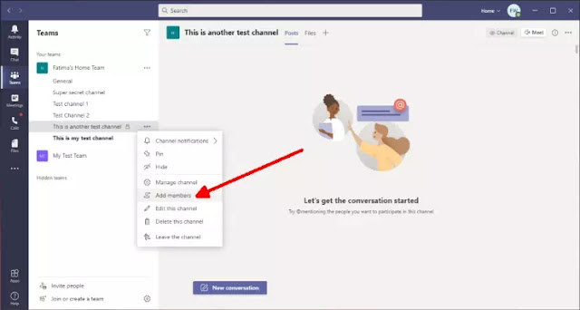 Cara Membuat Channel di Microsoft Teams-11