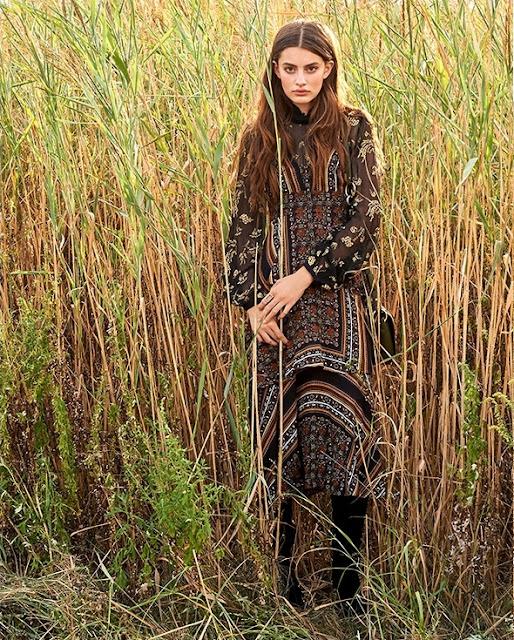 Платье в стиле богемный шик
