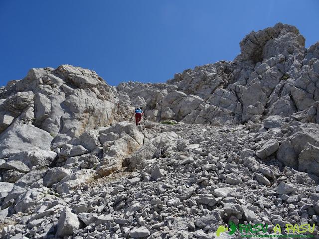 Ruta subiendo al Pico Boada