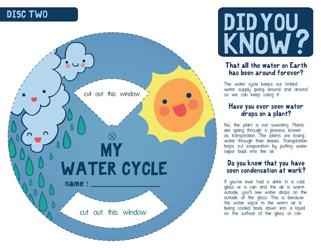 El Ciclo Del Agua Para Niños