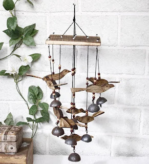wind chimes metal