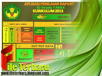 Download Aplikasi Raport SD Kurikulum 2013 Revisi Terbaru Gratis
