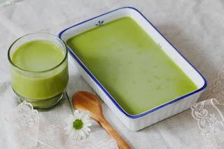 Cách làm thạch trà xanh hạt sen ngon ngọt bổ dưỡng 4