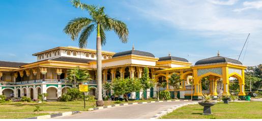 Istana Maimun adalah Ikon Kota Medan yang menjadi kota metropolitan terbesar no.3 di Indonesia