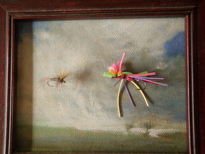 The problem with modern trout flies… or 30 pieces of 'flair'.
