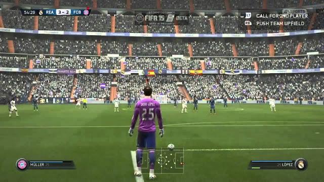 FIFA 15 Game Screenshots