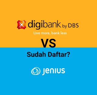 Digibank VS Jenius, nama yang terbaik