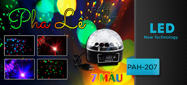 Đèn trang trí karaoke
