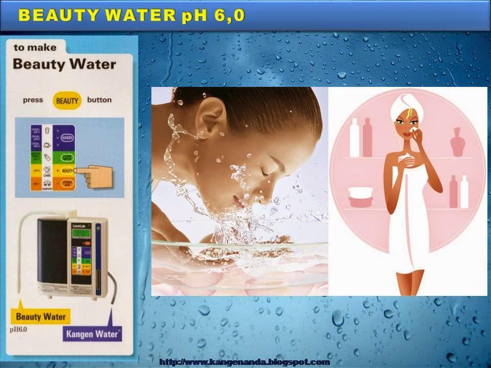 Manfaat Beauty Water - Kangen Water pH 6,0