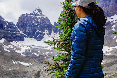 KÜHL Spyfire Down Hoody at Banff National Park