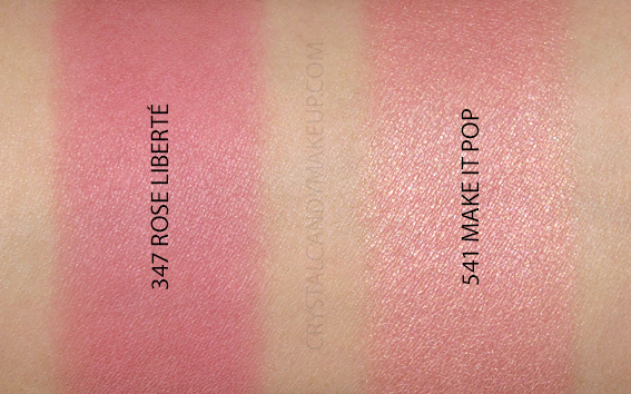 Fards joues Blush Subtil Rose Liberté Make It Pop Lancôme Avis Revue Swatches