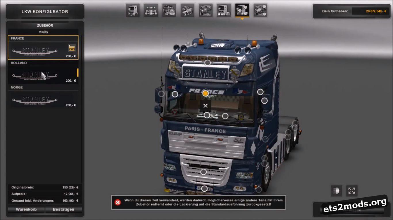 Truck – DAF XF 105 by Stanley V 1.2
