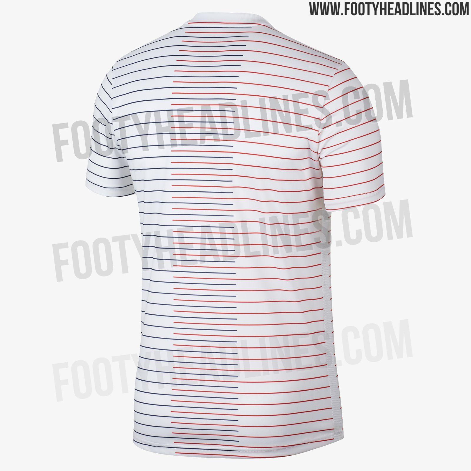 Nike PSG 19-20 Pre-Match Shirt Leaked