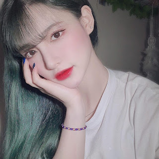 bian green hair