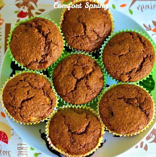 Gingerbread Pear Muffins, One of my favorites this week at Encouraging Hearts and Home, link-up your creations, right here at Scratch Made Food! & DIY Homemade Household!