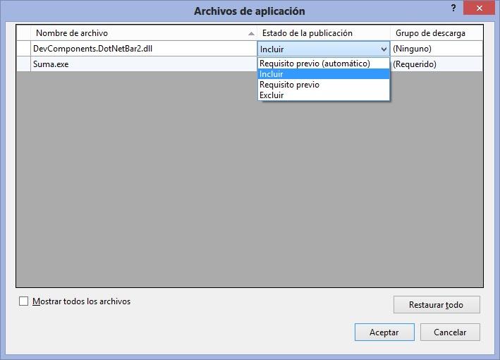 Instalador de Aplicación DevComponents con InnoSetup 5