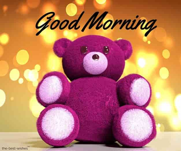 good morning teddy bear images hd