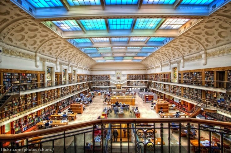 6. The State Library of New South Wales, Sydney, Australia - 31 Incredible Libraries and Bookstores Around the World