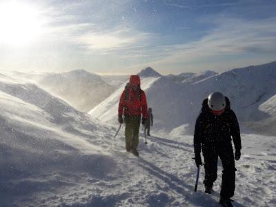 Winter skills Glencoe