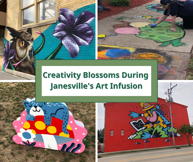 Creativity Blossoms During Janesville's Art Infusion