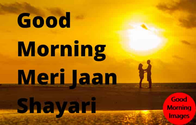 Good Morning Meri Jaan Shayari